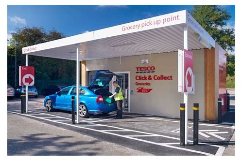 tesco click and collect coupons
