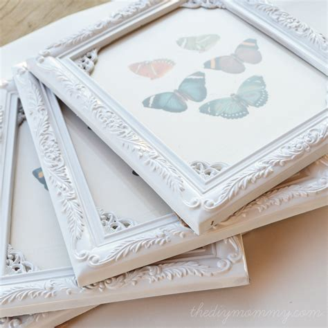 shabby chic spray paint diy shabby chic butterfly for 1 a value 50