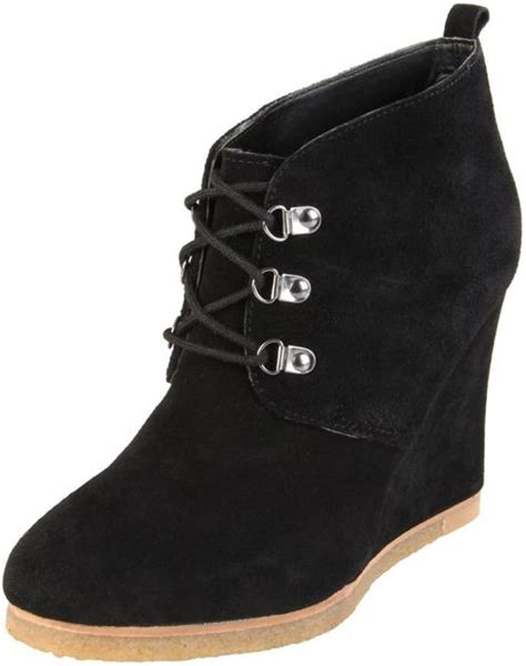 steve madden wedge boots steve madden steve madden womens tanngoo wedge boot in