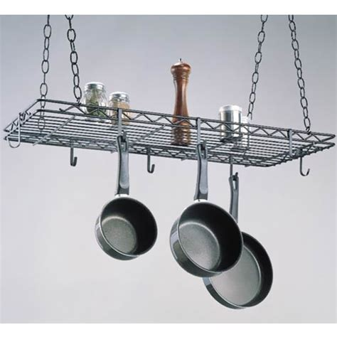 How To Install Hanging Pot Rack pot racks me pr1436 hanging pot racks by intermetro kitchensource
