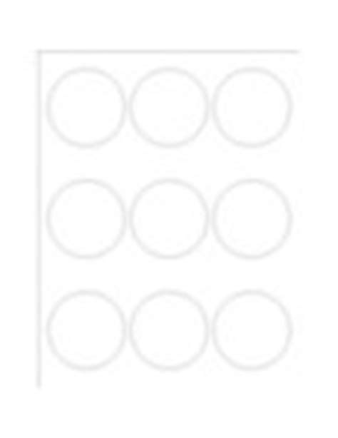 Templates Glossy Print To The Edge Round Labels 9 Per Sheet Avery Avery 22830 Template