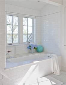 bathroom ideas white with subway tiles and marble tile large design