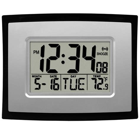 Hello Solar Swing Digital Clock by Digital Car Clock Home Depot Learn The About