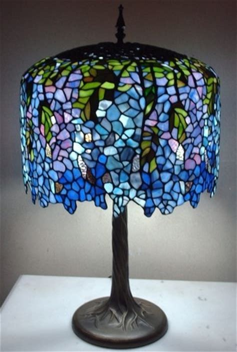 tiffany blue l shade 9 best images about stained glass on pinterest trees