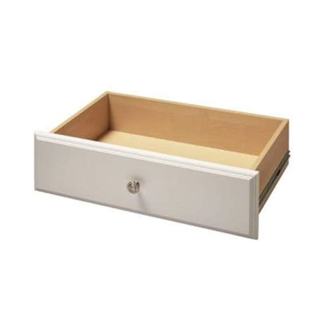 Drawer Kits Home Depot by Martha Stewart Living 8 In X 24 In Classic White Deluxe