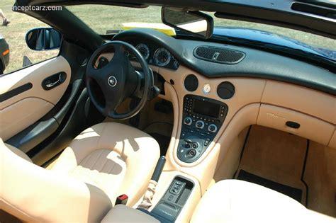 maserati spyder interior 2002 maserati spyder black 200 interior and exterior images