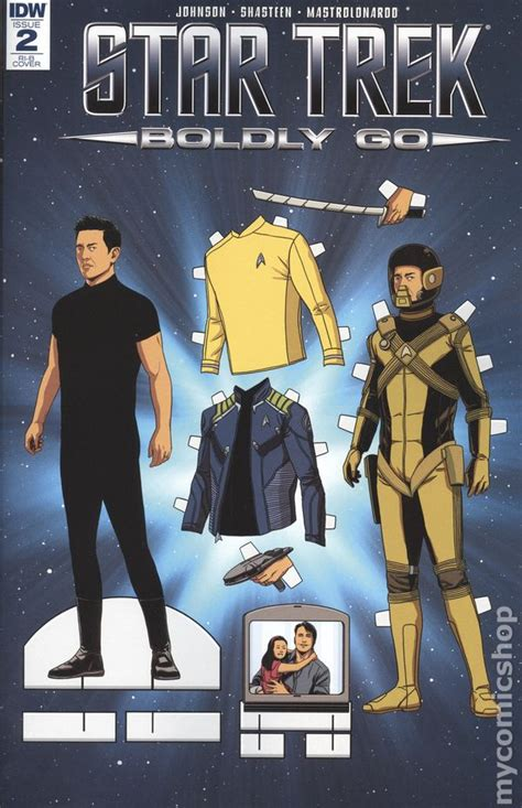 trek boldly go vol 2 books trek boldly go comic books issue 2