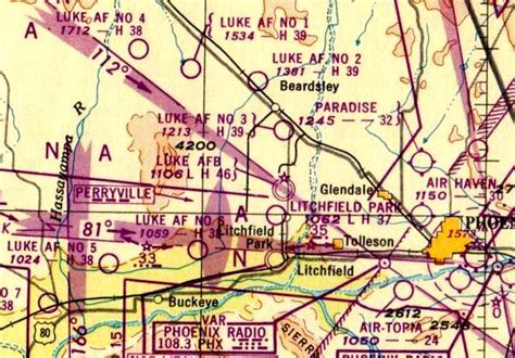 arizona sectional chart abandoned little known airfields southwest phoenix area