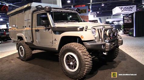 jeep wrangler outpost ii equipped  aev american expedition vehicles walkaround
