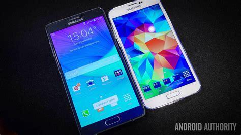 Samsung Galaxy Note 4 Vs Samsung Galaxy S5 Samsung Galaxy Note 4 Vs Galaxy S5 Look