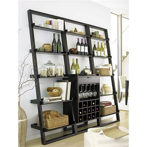 sloane leaning wine bar bookcase set pinterest the world s catalog of ideas