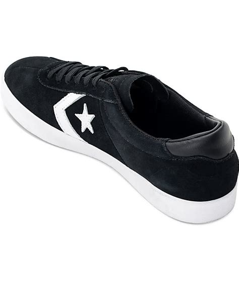 Converse Skate Breakpoint Pro Ox White converse breakpoint pro ox black white skate shoes zumiez