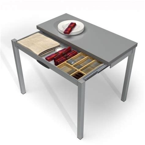 Table Pour Cuisine 騁roite - table de cuisine extensible en m 233 lamin 233 table petit