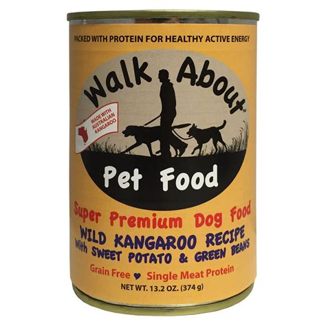 potato free food walk about kangaroo with sweet potato grain free canned food whitedogbone