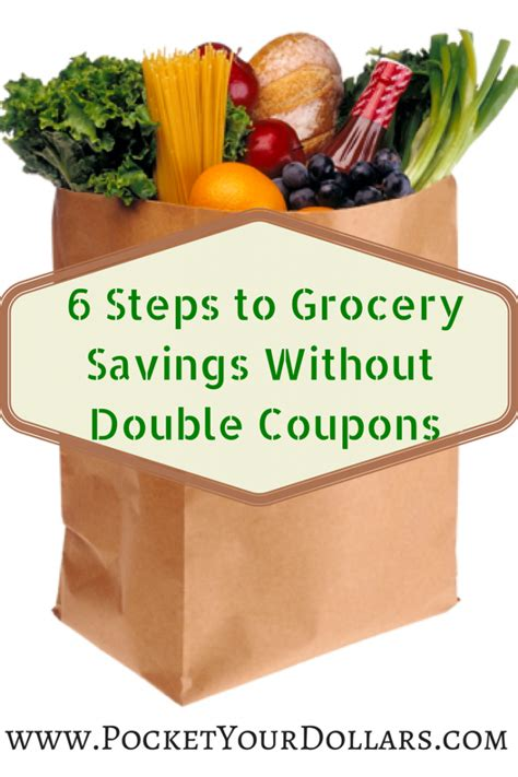 6 steps to saving without coupons