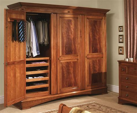 wooden bedroom wardrobes how to make hang wardrobe of wood portable closet http