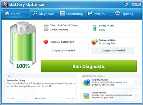 laptop battery resetter software battery optimizer download