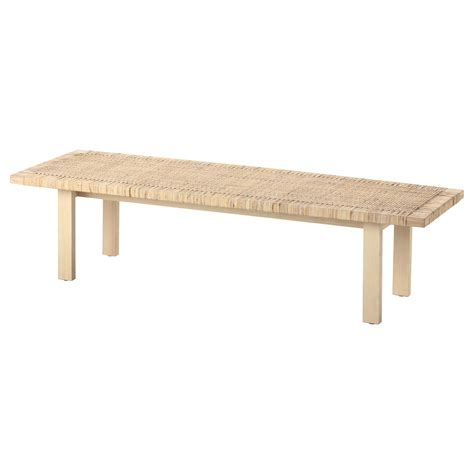 Stockholm 2017 coffee table rattan ash 100x40 cm ikea