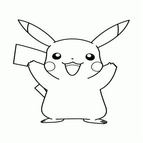imagenes navideñas para pintar y recortar encantador dibujos de pikachu para colorear e imprimir