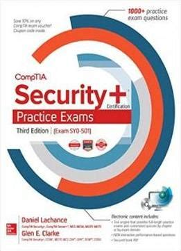 comptia security sy0 501 cram 5th edition books comptia security certification practice exams third
