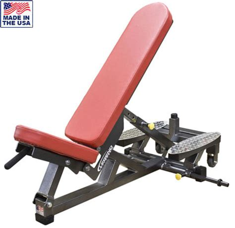 self spotting weight bench three way self adjusting weight bench w spotters platform