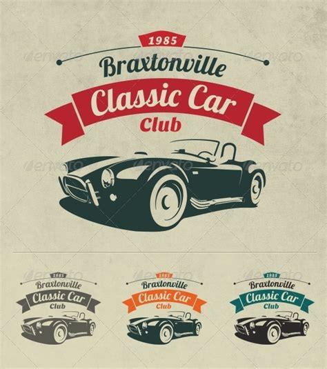 Classic Car Club Logo by sgcanturk   GraphicRiver