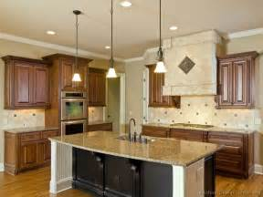 Kitchen Cabinet Island Design Ideas Pictures Of Kitchens Traditional Two Tone Kitchen Cabinets Kitchen 28