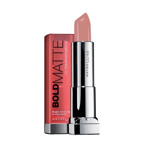 Lipstik Maybelline Color Sensational Bold Matte color sensational bold matte lipstick 7 beige