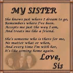 Sister love love poems and sisters on pinterest