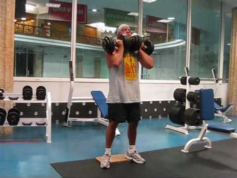 dumbell front squats youtube