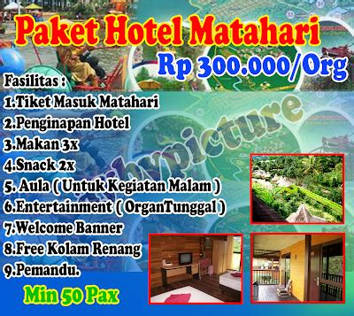 Harga Tas Palomino Di Matahari hotel dan villa matahari puncak murah
