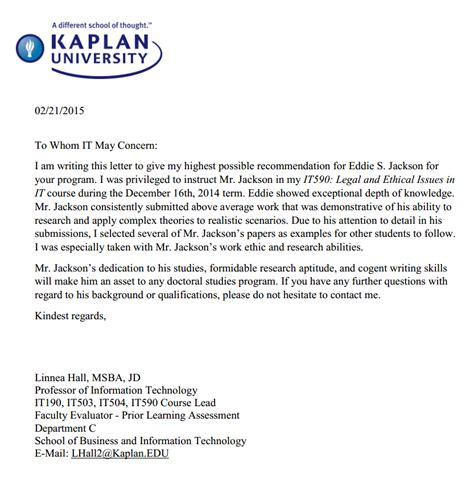 Recommendation Letter Data Scientist Computer Systems Engineer
