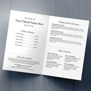 Church Bulletins Bulletin Printing Template Concordia Supply Free Church Bulletin Templates