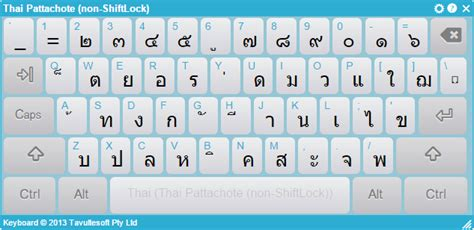 layout keyboard thai how to render combining marks consistently across