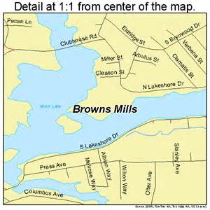Browns mills new jersey street map 3408455 browns mills pemberton