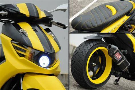 Modifikasi Mio Sporty Kuning by Tips Modifikasi Yamaha Mio Soul Gt Dan Gambarnya Lengkap