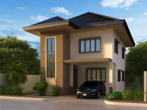 2 Storey House Two Beautiful Contemporary House Plan Amazing