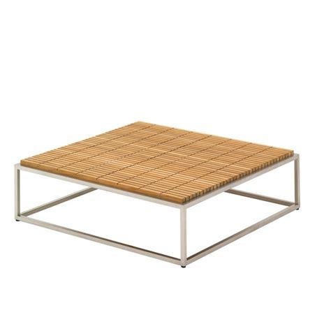 Teak Outdoor Coffee Table Outdoor Stainless Steel Lounge Teak Coffee Table