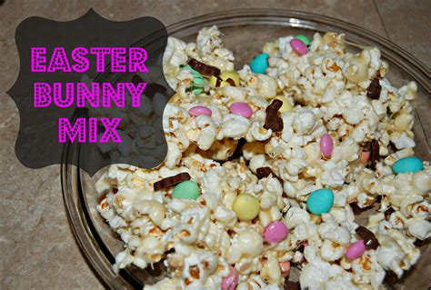 easter bunny mix popcorn naturally cracked