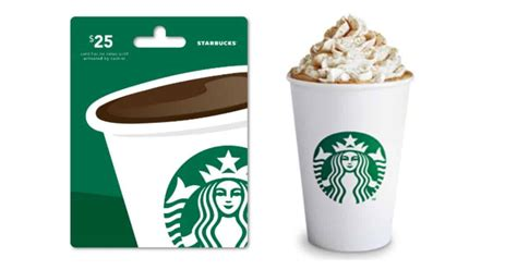 Starbucks Gift Card Deals - go go go 25 00 starbucks gift card for 10 00