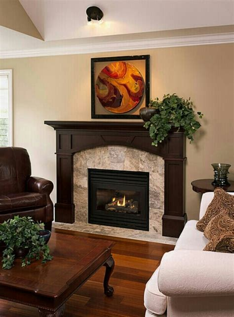 fireplace mantel for the home pinterest