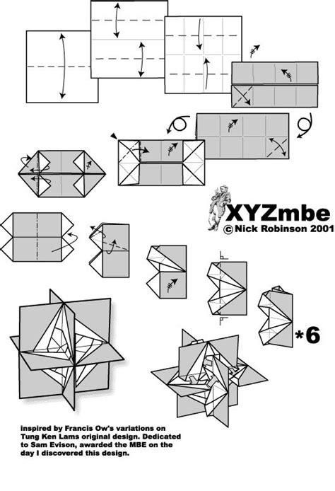 Nick Robinson Origami - xyzmbe by nick robinson origami modular