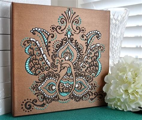 henna design on canvas pinterest the world s catalog of ideas