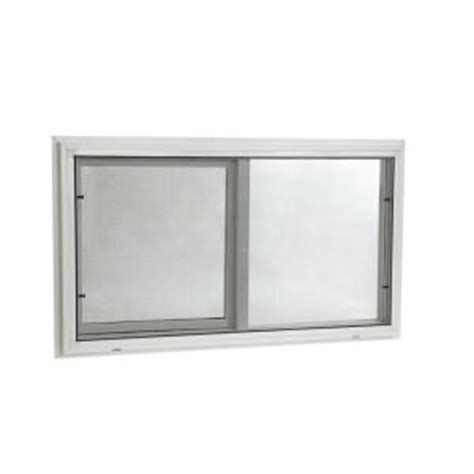 Home Depot Pane Windows by Tafco Windows 32 In X 20 In Slider Vinyl Windows With