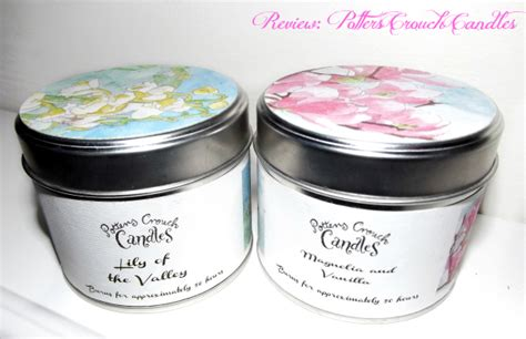 Handmade Candles Uk - review potters crouch candles of the valley