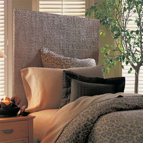 grass headboard grass weave queen size headboard dcg stores