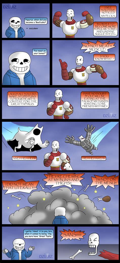Undertale Comic   Bone Appetit by DZkribblerLuiz on DeviantArt