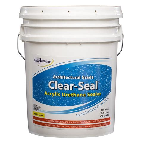 Clear Acrylic Sealer upc 660041000027 waterproofing sealers guard