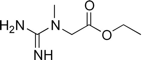 creatine structure file creatine ethyl ester png wikimedia commons