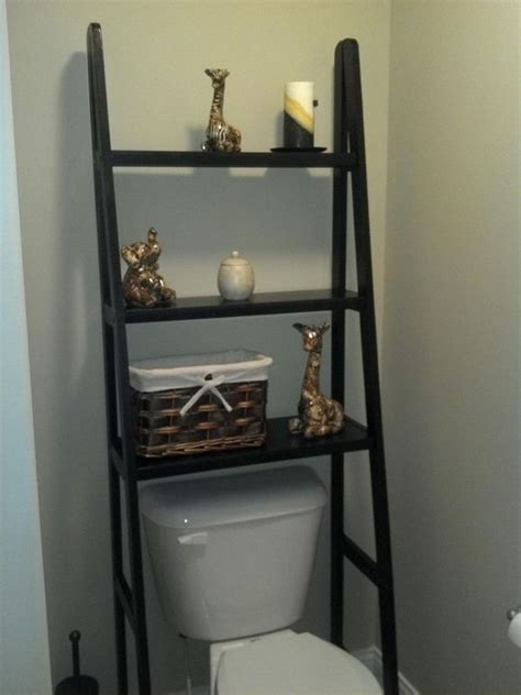 over the toilet ladder over the toilet storage ideas for extra space hative